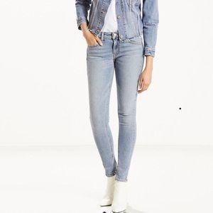Levi's 711 Altered Skinny Jeans 29x30
